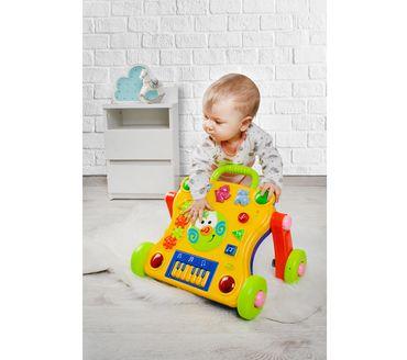Lauflernwagen Licht Geräusche Musik Tasten Schieben Baby Kleinkind Interaktiv #6714 – Bild 2