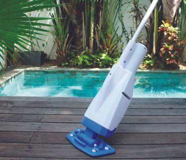 Bestway Flowclear akkubetriebener Poolsauger Aqua Powercell für Poolgrößen 7653 – Bild 8