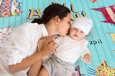 Baby Krabbeldecke Kinderteppich Kinderzimmer weich Tragetasche groß 8708 – Bild 20