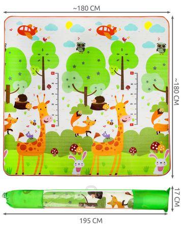 Spielmatte Große Anti-Rutsch Krabbelmatte Doppelseiten Spielbar Baby Kleinkind  Picknick-Decke und Übungsauflage Geeignet 9104 – Bild 2