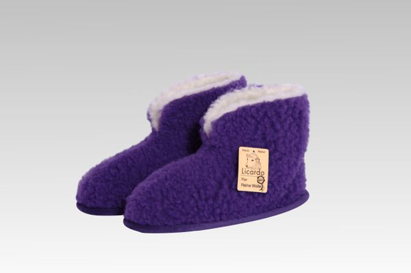 Heimschuh HS 18 Wolle lila 42/43