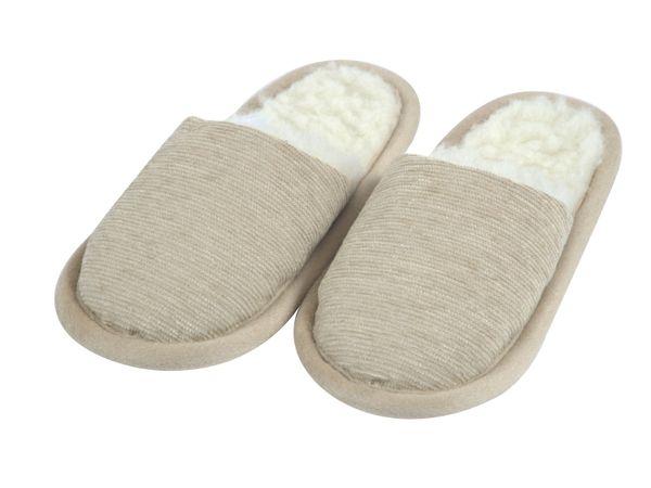 Pantoffel Norma beige 44/45