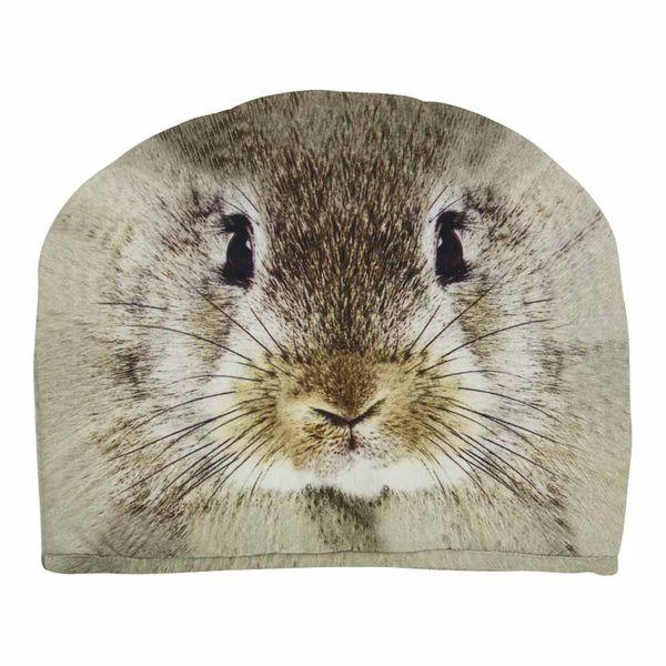 Kannen wärmer- Kaninchen Beige 27x33 cm für Teewärmer, wärmer aus Stoff 100% Baumwolle