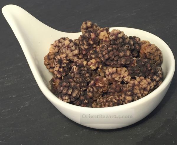 Getrocknete Maulbeeren Schwarz 350 Gramm ( Tute khoshk siah ) – Bild 1