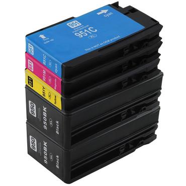 20 Drucker Patronen Kompatibel zu HP 950 + 951 XL new – Bild 2