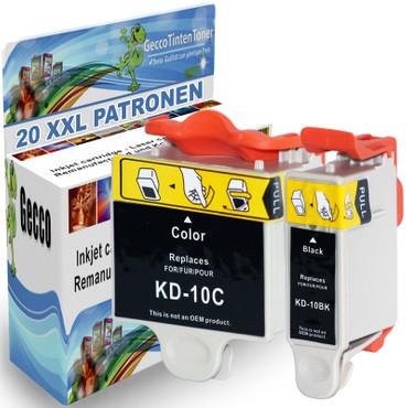 20 Drucker Patronen für Kodak 10 XL new