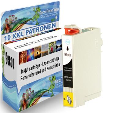 10 Drucker Patronen Black für Epson XL DX4850 Plus DX3850 Plus new – Bild 1