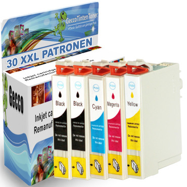 30 Drucker Patronen für Epson Workforce WF-2520NF WF-2540WF WF-2010W XL new – Bild 1