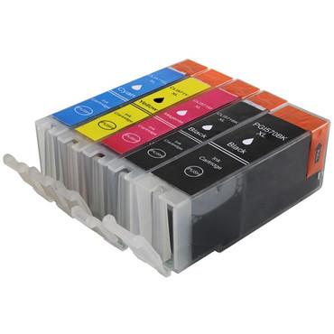 5 Drucker Patronen für Canon PGI 570 + CLI 571 XL new – Bild 2