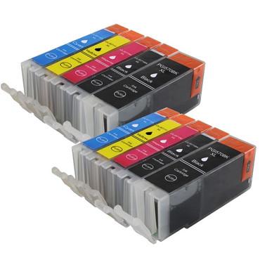10 Drucker Patronen für Canon PGI 570 + CLI 571 XL new – Bild 2