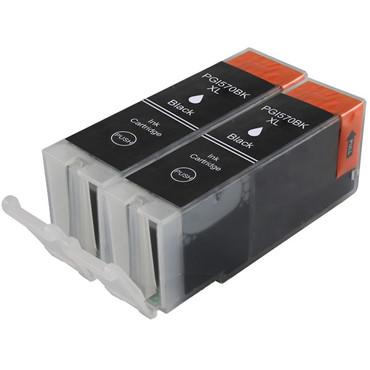 2 Drucker Patronen für Canon PGI 570 XL Black new – Bild 2