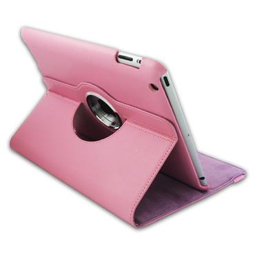 360° Schutzhülle für iPad 2 3 4 Klassisch Standfunktion Tasche Etui Hell Pink  – Bild 1