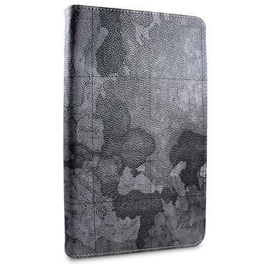 Weltkarte Schutzhülle für iPad Mini 1 Mini 2 Mini 3 Standfunktion Tasche Grau – Bild 4