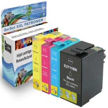 8 Drucker Patronen für Epson Workforce WF-3600 Series WF-3620 DWF WF-3620 WF new