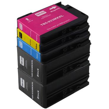 10 Drucker Patronen  Kompatibel zu HP 932 + 933 XL new – Bild 2