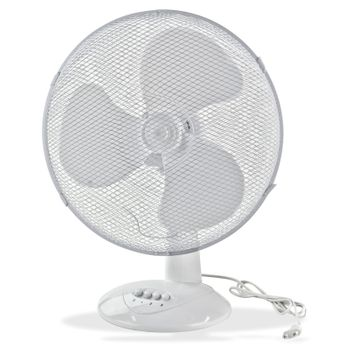 Set 2x Tischventilator Ventilator 45 cm Klimagerät Gebläse – Bild 6