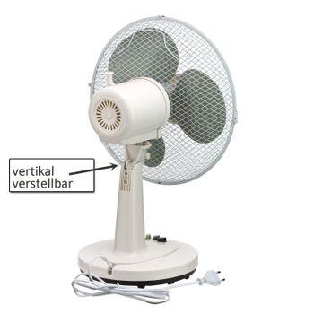 Set 2x Tischventilator Ventilator 45 cm Klimagerät Gebläse – Bild 4