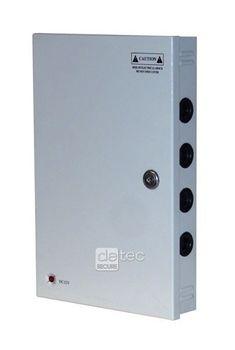 Detec Secure 18 Kanal Kombi Netzteil Verteiler Überwachung Stromverteiler – Bild 1