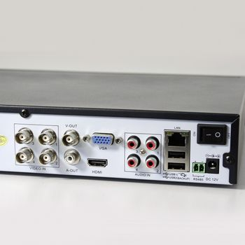 8 Kanal Überwachungskamera Komplettsystem Profiline incl. 500G HDD Festplatte – Bild 5