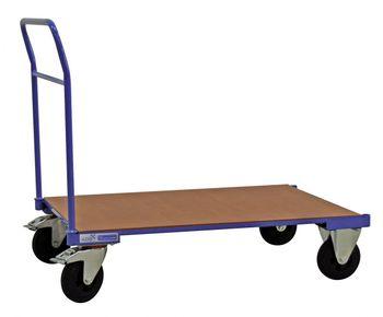 ADB Profi Plattformwagen | Bügelwagen einseitig Stahlrohr, 114 x 70 x 90 cm, 400 kg