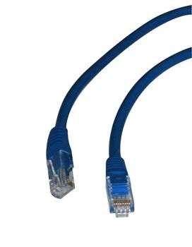 CAT 5e Kabel 1m RJ45 Stecker blau