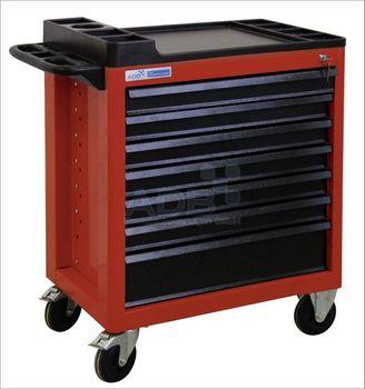 ADB Werkstattwagen CARTEC rot · blau 5 · 6 · 7 · 8 Schubladen – Bild 3