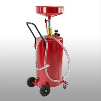 Ölauffanggerät 60L Öl Auffanggerät Ablassbehälter Ölablassbehälter pneumatisch – Bild 2