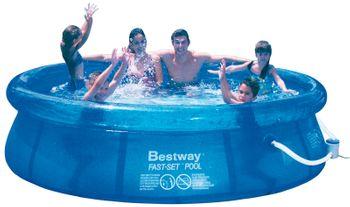 Swimmingpool Gartenpool Swimming Pool Aufstellpool Schwimmbecken 305 x 76 cm – Bild 6