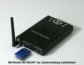Detec Secure Funkempfänger mit SD Karten Aufnahmefunktion – Bild 2