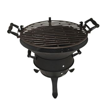 Grillfass New Orleans Grill Holzkohlegrill Gartengrill Campinggrill Feuerstelle – Bild 1