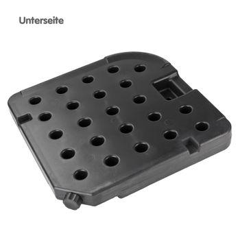 4x PVC Gewicht für Schirmständer Schirmgewicht Ständer Sonnenschirmständer – Bild 4