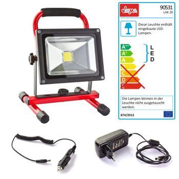 LED Arbeitsleuchte Strahler Lampe Fluter Baustrahler Werkstattlampe mobil – Bild 1