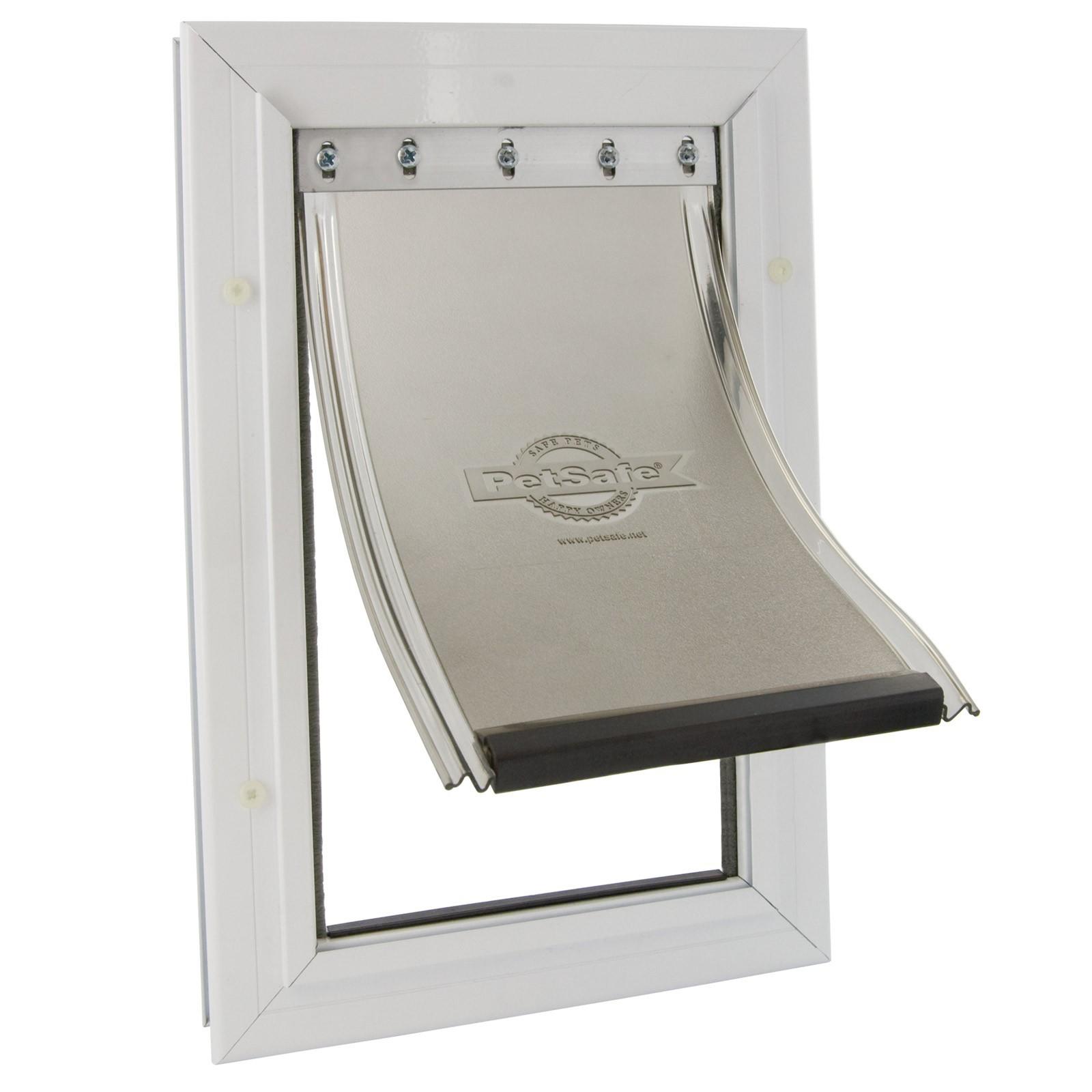 staywell hundeklappe alu hundet r f r gro e hunde. Black Bedroom Furniture Sets. Home Design Ideas