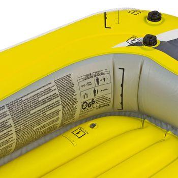 Schlauchboot Paddelboot Ruderboot Boot RX-4000 228x121cm für 3 Personen – Bild 5
