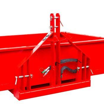 Heckcontainer / Kippmulde Kat 1 + 2 hydraulisch 125x180x40 Transportmulde Mulde – Bild 4