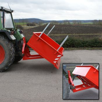 Heckcontainer / Kippmulde Kat 1 + 2 hydraulisch 125x180x40 Transportmulde Mulde – Bild 6