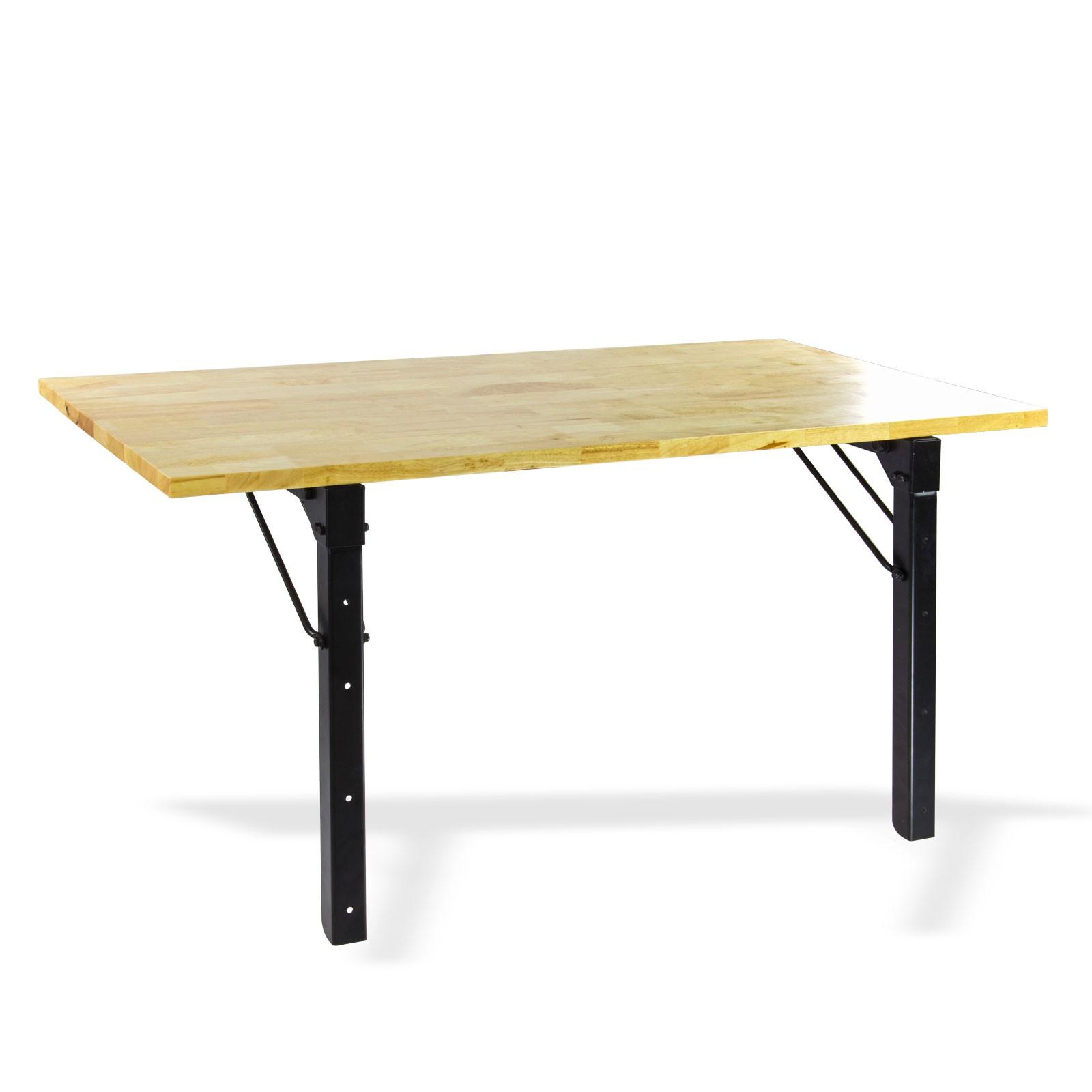 Relativ Universal Holz Eukalyptus Klapptisch Tisch Wand klappbar KJ93