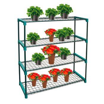 Pflanzenregal 4 Böden f. Pflanzen Regal – Bild 1