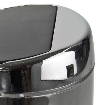 Automatik Mülleimer Abfalleimer mit Bewegungs Sensor 6 L Edelstahlkorpus – Bild 5