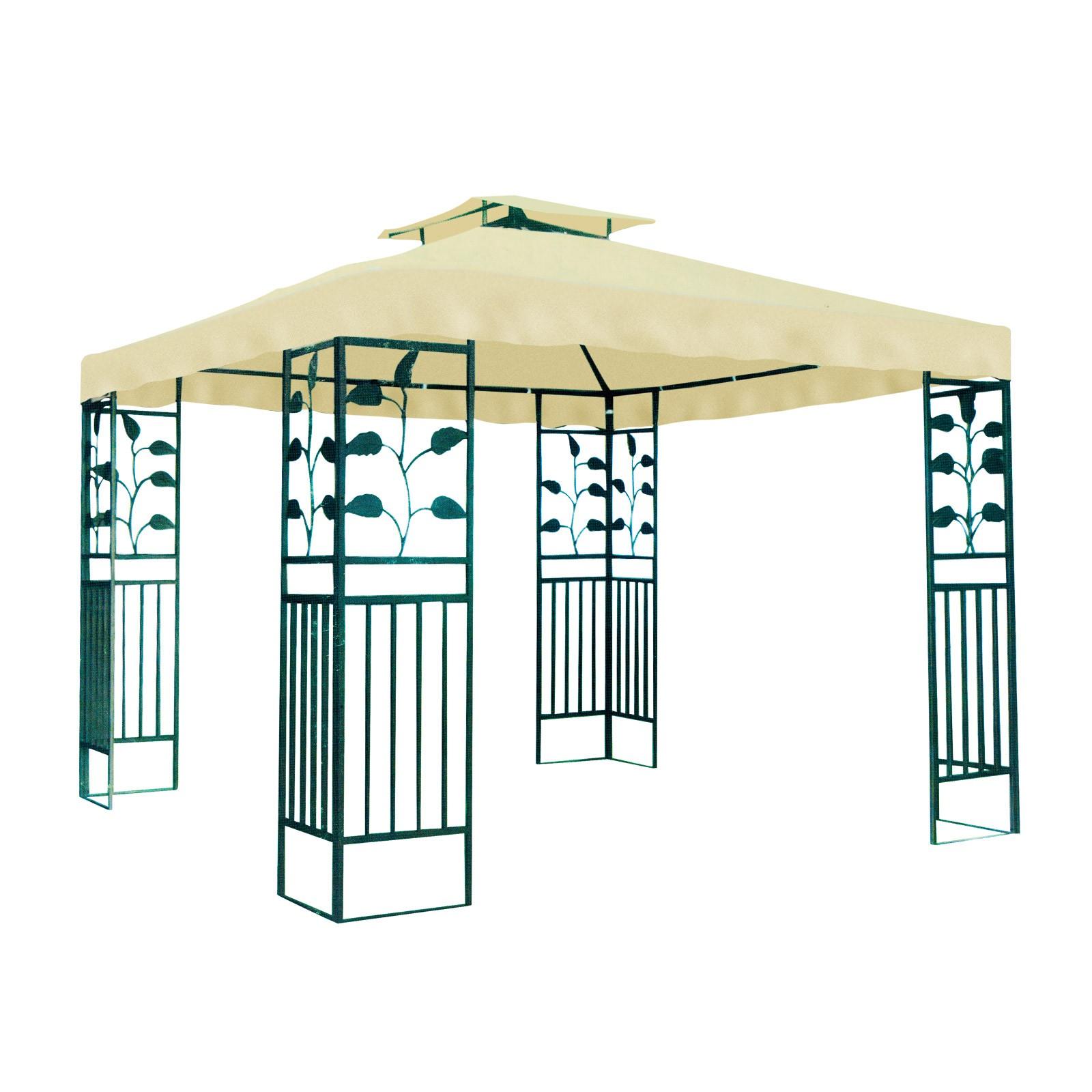 Metall Gartenpavillon 3 X 3 M Pavillon
