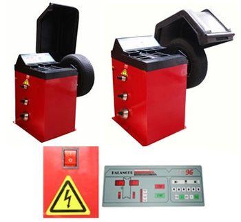 Auswuchtgerät + Reifenmontiergerät + Kompressor 10 bar 400 V – Bild 4