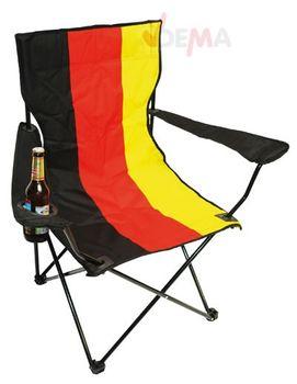 Faltstuhl | Angelstuhl | Campingstuhl Deutschland WM 2014 – Bild 1