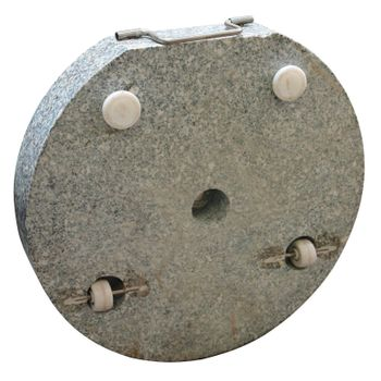 Sonnenschirmständer Schirmständer Granit 40 kg – Bild 2