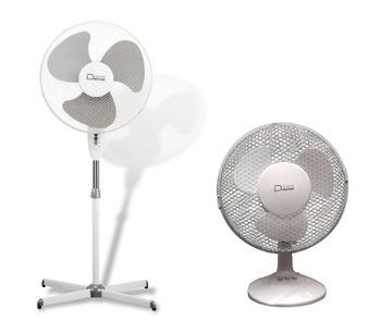 SET Standventilator + Tischventilator Ventilator 2 + 3 Stufen – Bild 1