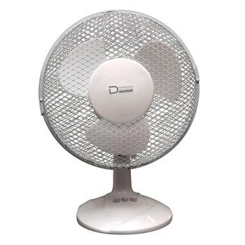 Set 1x Standventilator + 2x Tischventilator Ventilator 2 + 3 Stufen Klimagerät – Bild 2