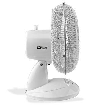SET 2x Standventilator + 2x Tischventilator Ventilator 2 + 3 Stufen Klimagerät – Bild 5