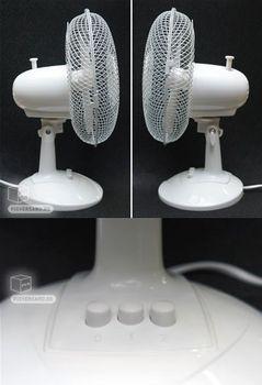 Set 4x Tischventilator Ventilator 28 cm Klimagerät – Bild 3