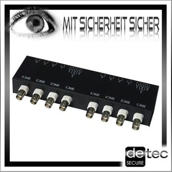 Detec Secure Video Balun 8-Fach – Bild 4
