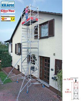 Krause 2. Aufstockung für ClimTec Grundgerüst Fahrgerüst Alu – Bild 2