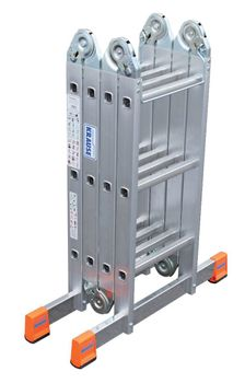 Krause Multi - Matic 4 x 3 / Gelenk - Universal Leiter – Bild 6